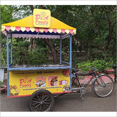 Portable Tricycle Food Cart