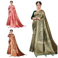 BANARASI SILK SAREE WOMEN NEW TRENDING