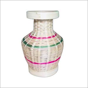 Handmade Bamboo Flower Vase