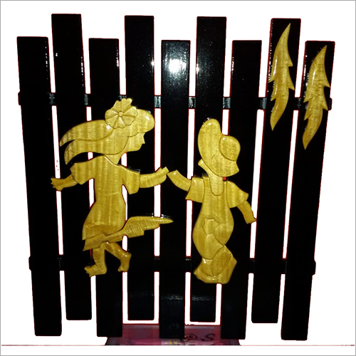 Wooden Wall Decor Showpiece