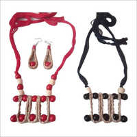 Ladies Jute Handmade Necklace Set