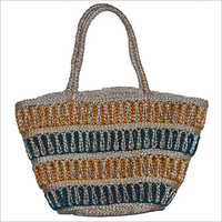Handmade Braided Jute Bag