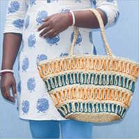 Handmade Braided Jute Handbag