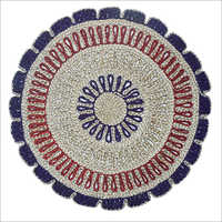 Handmade Round Table Mat