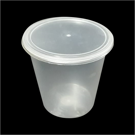 Transparent Plastic Container With Lid