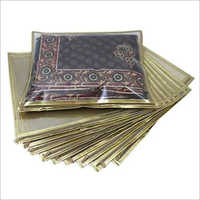 Zipper Plain Saree Packing Bag