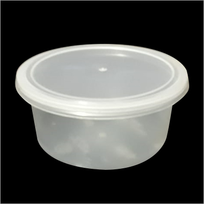 Plastic Round Food Container