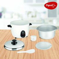 Pigeon by Stovekraft Joy Rice Cooker 1.8L (White)