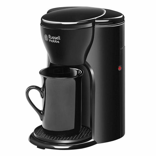 Russell Hobbs RCM1 – 330 Watt One Cup Coffee Maker with Ceramic Cup and permanent filter with 2 Years Warranty