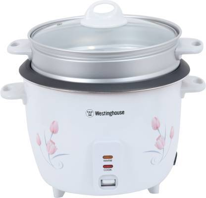 westinghouse RC18W1S-CM Electric Rice Cooker  (1.8 L, White)