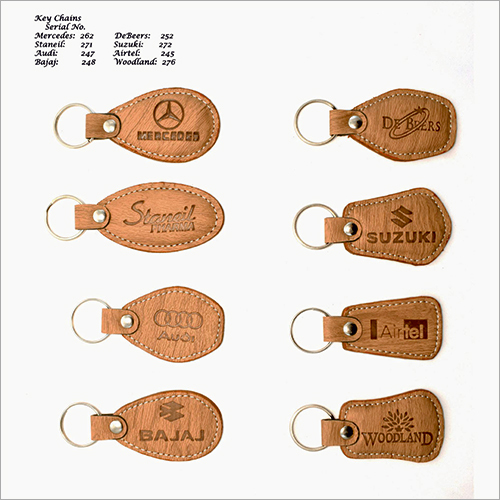 Promotional Leather Key Chain