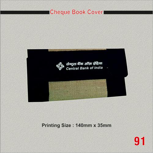 Cheque Book Cover