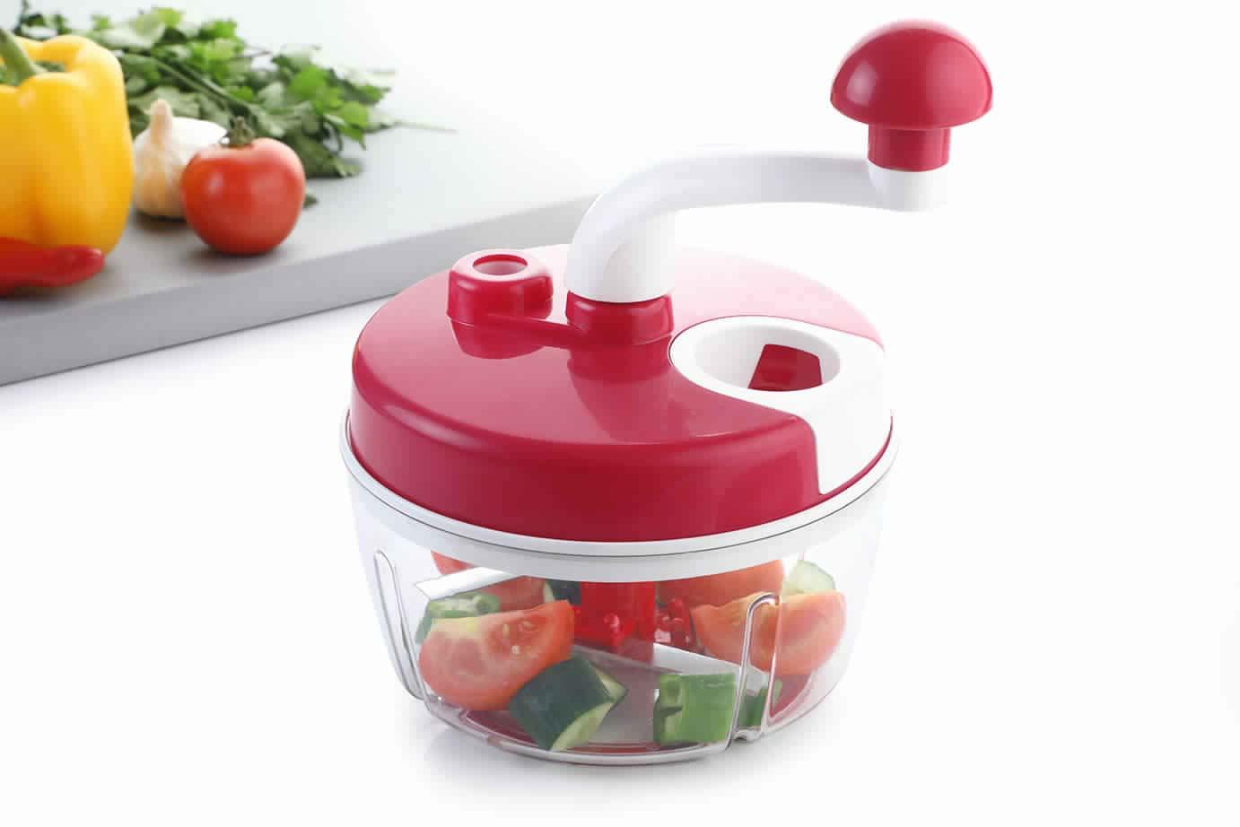 Manual Food Processor with Dual Speed
