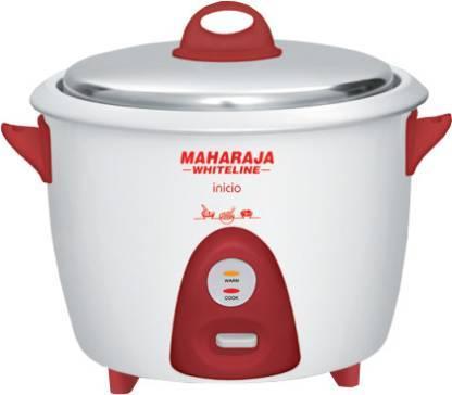 Maharaja Whiteline RC 100 Electric Rice Cooker  (1.8 L)