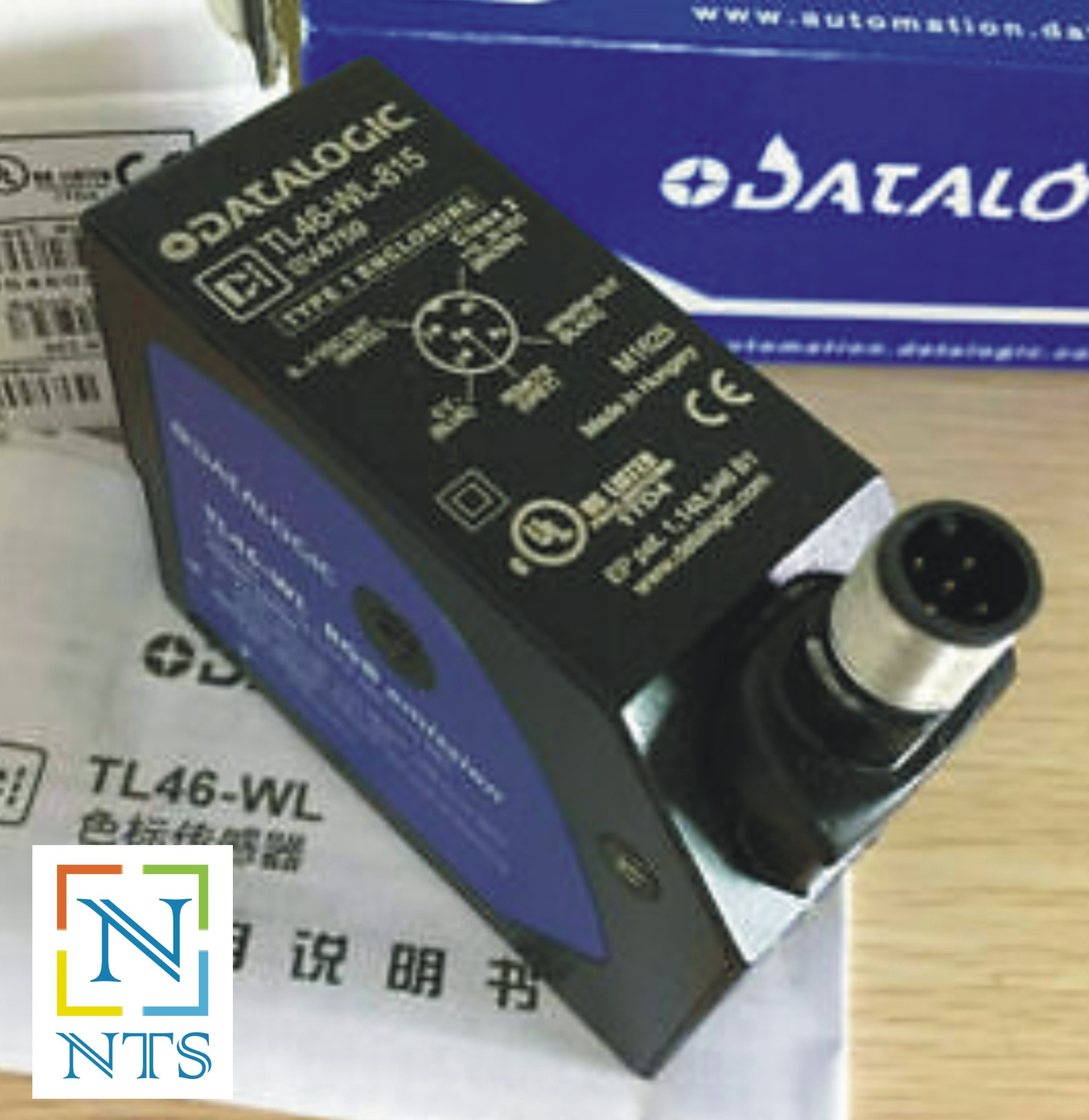 DataLogic TL46-W-815 Color Sensor