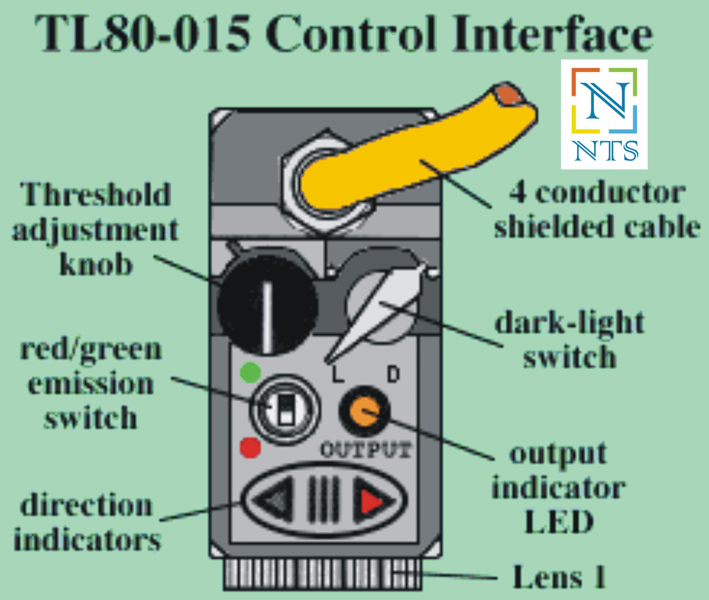 DataLogic TL80-015 Color Sensor