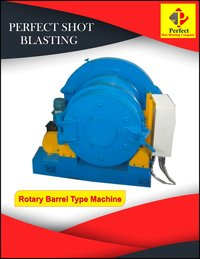 Rotary Barrel Shot Blasting Machine