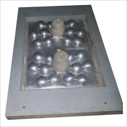 Aluminium grinding media pattern