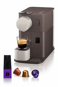 Nespresso Delonghi Lattissima One Mocha Brown