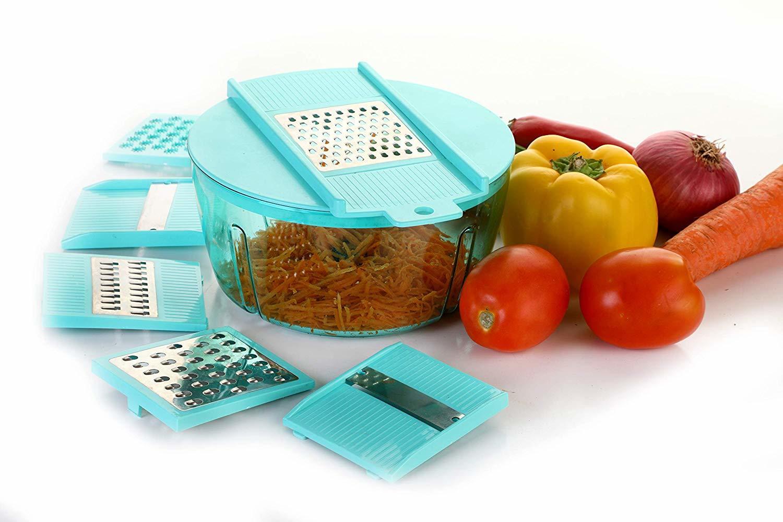 Multipurpose Food Processor (Chopper, Grater, Slicer)