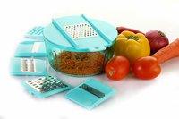 Food Processor Multipurpose Chopper, Grater, Slicer, Blue