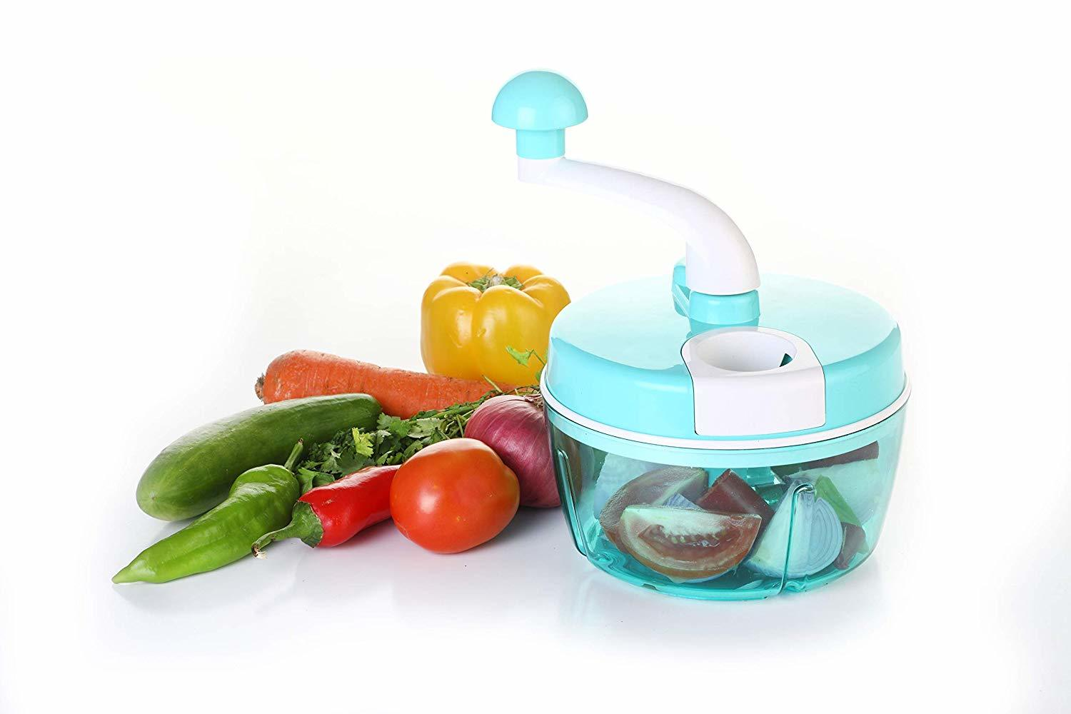 Multipurpose Food Processor (Chopper, Grater, Slicer)