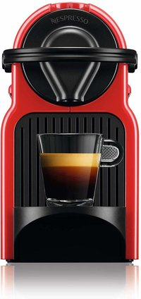 Nespresso Inissia Coffee Capsule Machine, Ruby Red by Krups