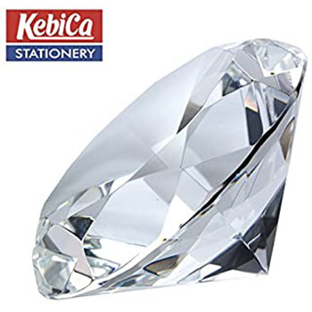 Kebica 80mm Diamond Paper Weight
