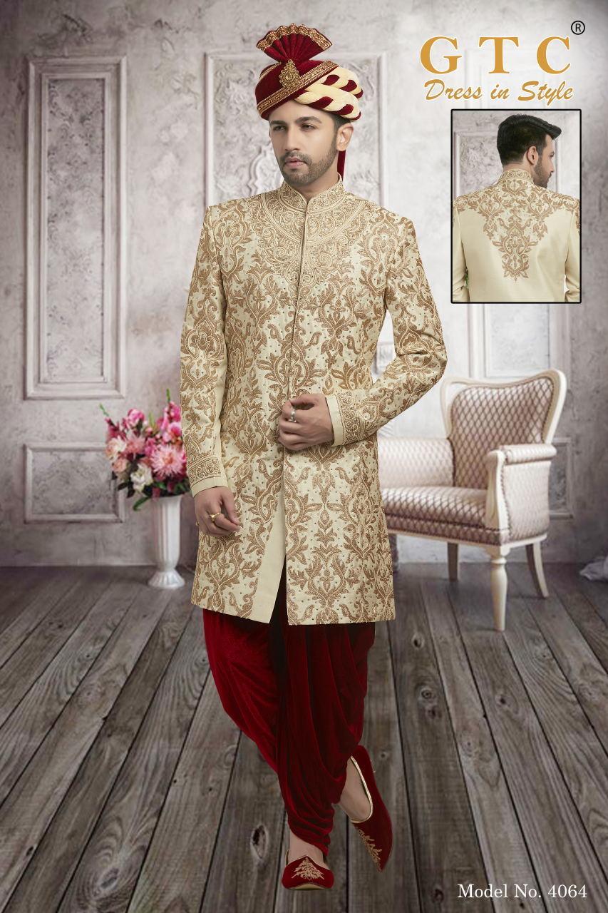 4064 Exclusive & Wedding Sherwani