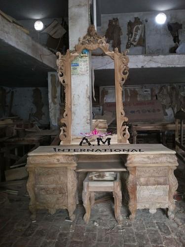 indian design dressing table