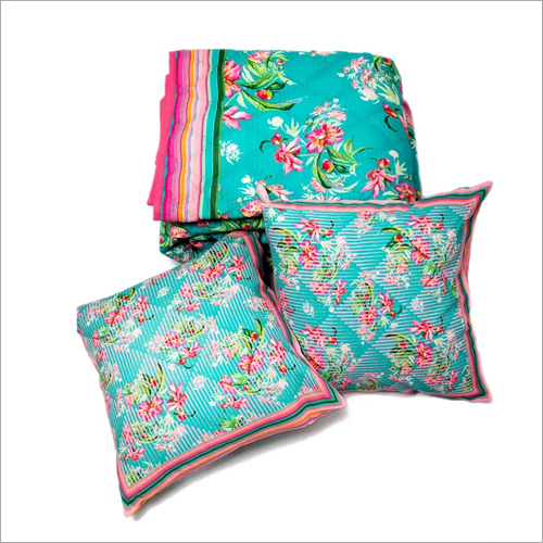 Two Cushion Cover Quilt Set
