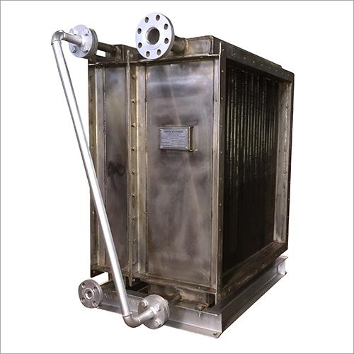 Hot Water Air Heater