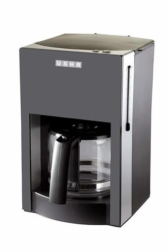 Usha 3230 1.25-Litre Stainless Steel Drip Coffee Machine (Black)