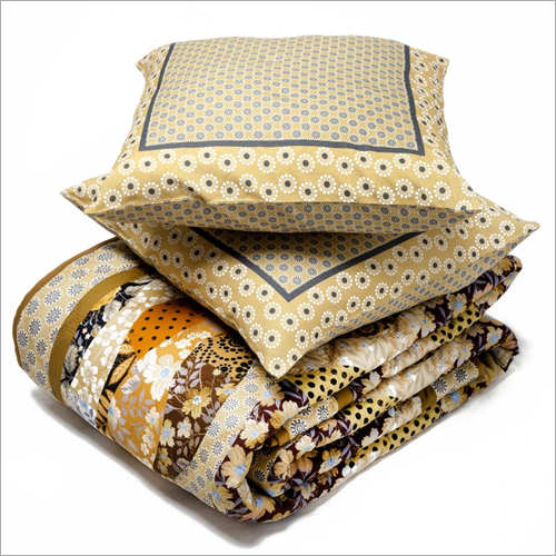 Single Quilt And Cushion Cover Set