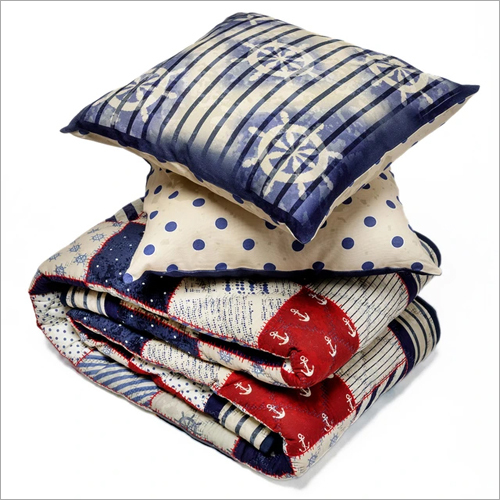 Double Quilt And Cushion Cover Set