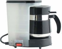 BRAHMAS Coffee Maker with Free 2 Stainless Steel Tumblera
