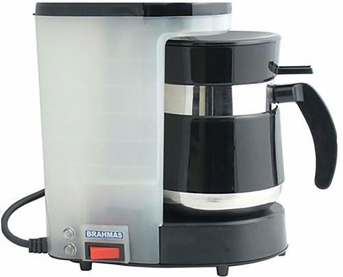 BRAHMAS Coffee Maker with Free 2 Stainless Steel Tumblera