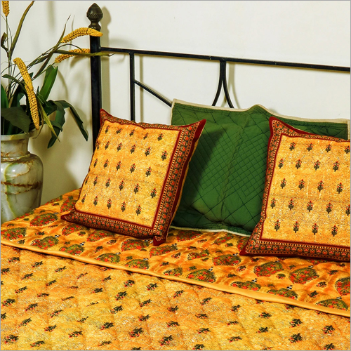 King Size Quilt And Cushion Cover Set