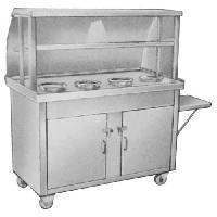 Three GN pan Bain marie