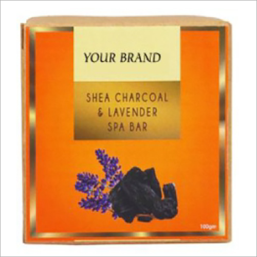 Shea Charcoal And Lavender Spa Bar