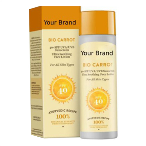 SPF 40 Bio Ultra Soothing Face Lotion Sunscreen