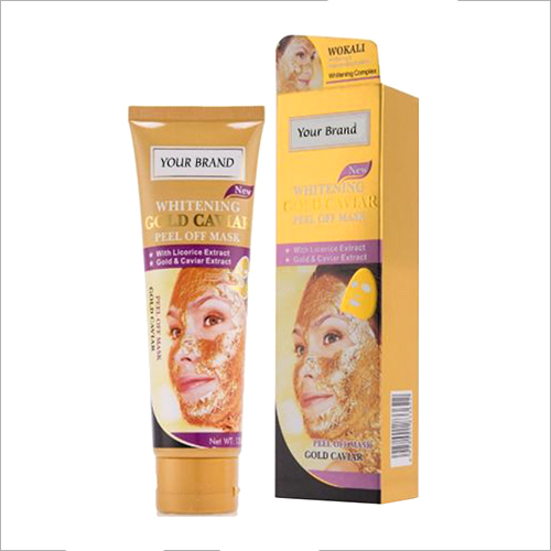 Whitening Gold Caviar Peel Off Mask
