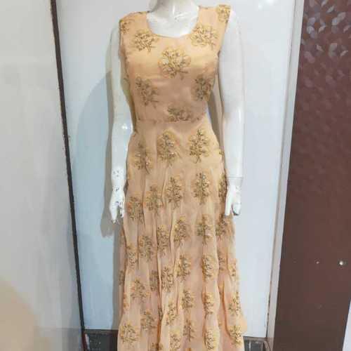Fancy cotton gown