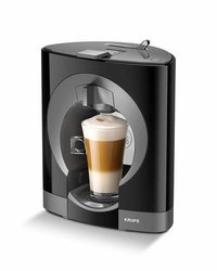 NESCAFE By KRUPS Dolce Gusto Oblo Coffee Machine (Black)