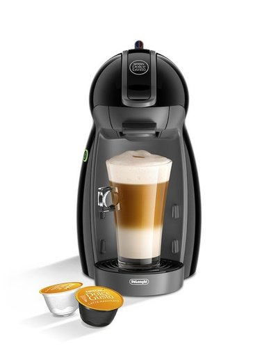 Nescafe Piccolo EDG 200.B Dolce Gusto Single Serve Coffee Maker and Espresso Machine by De'Longhi - Black