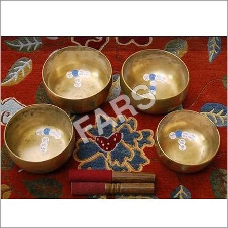 4 Piece Singing Bowls Set