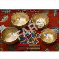 4 Piece Singing Bowls Set