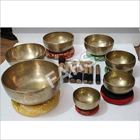 Tibetan Singing Bowls Set
