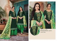 Chanderi Cotton Dress Materials