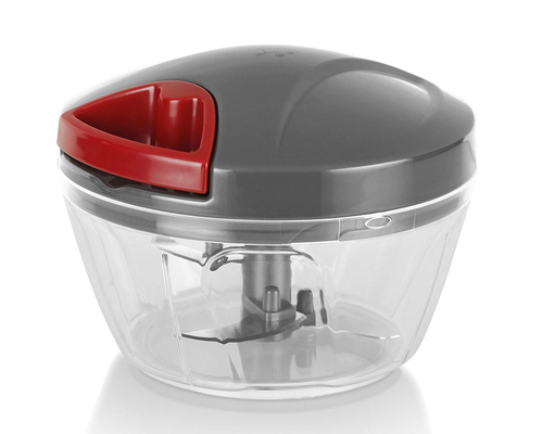 Handy Mini Plastic Chopper with 3 Blades